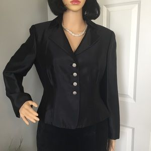 Talbots Petite Silk Blazer